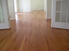 White oak hardwood floor installation in Atlanta
